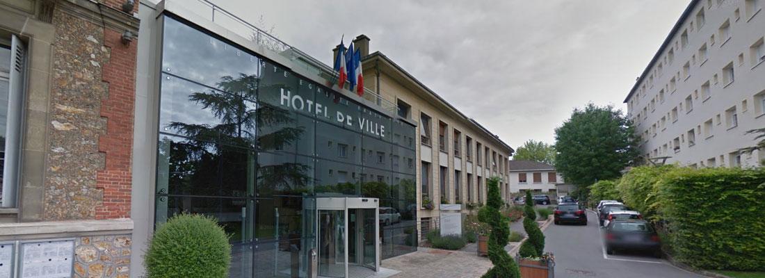 Réaménagement du hall de l'hôtel de ville de Meudon - Maître d'oeuvre